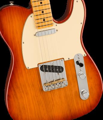 Fender American Professional II Telecaster, Maple Fingerboard, Sienna Sunburst