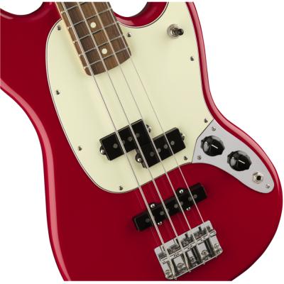 Fender Player Mustang Bass PJ Torino Red, Pau Ferro Fingerboard