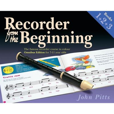 Recorder from the Beginning Omnibus Edition (Books 1, 2 + 3)