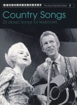 The Easy Keyboard Library Country Songs