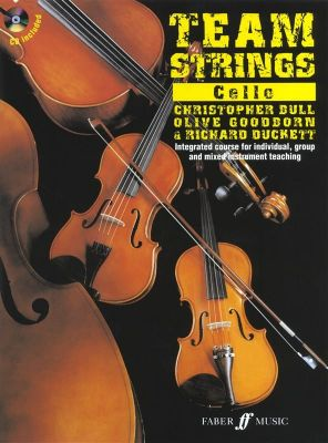 Team Strings Cello (Book with CD)