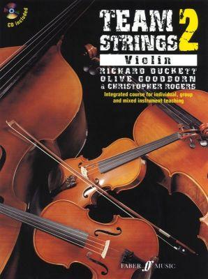 Team Strings 2 Violin (Book with CD)