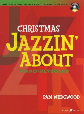 Christmas Jazzin' About for piano (Book + CD)