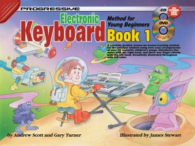 Progressive Keyboard Method for Young Beginners 1 (Book + CD + DVD)