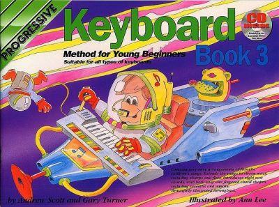 Progressive Keyboard Young Beginner 3 Bk and Cd