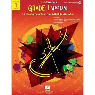 Gradebusters Grade 1 Violin (Book + Online Audio)