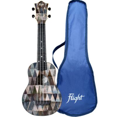 Flight TUS40 ABS Travel Soprano Ukulele - Arcana