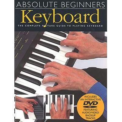 Absolute Beginners Keyboard (Book + DVD)