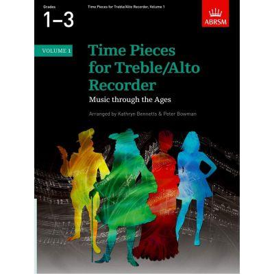 Time Pieces For Treble/Alto Recorder - Volume 1