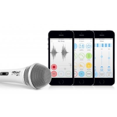 iRig Voice Karaoke Microphone – White