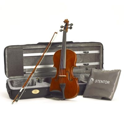 Stentor Violin Outfit Conservatoire with Oblong Case, Full Size