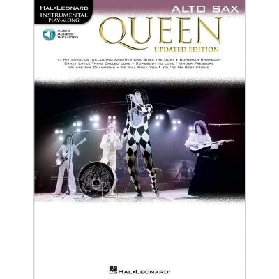 Queen - Alto Sax (Book + Online Audio)