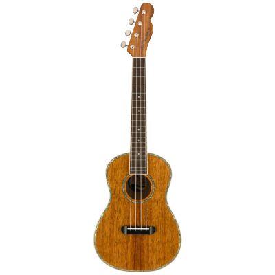 Fender Montecito Tenor Ukulele, Walnut Fingerboard, Natural
