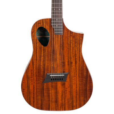 Michael Kelly Forte Port Jr Acoustic Guitar, Koa
