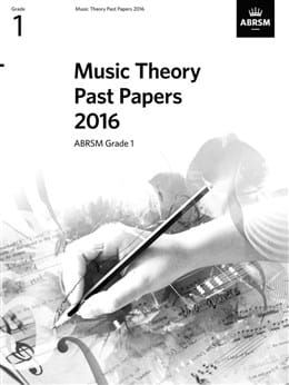 ABRSM Music Theory Past Papers 2016 Grade 1
