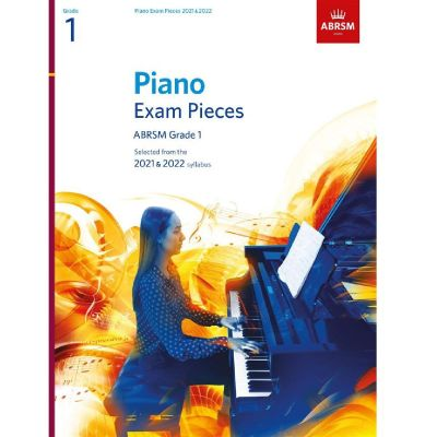 ABRSM Piano Exam Pieces 2021-2022 Grade 1 (Book Only)