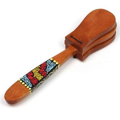Siesta BS90 Painted Stick Castanets