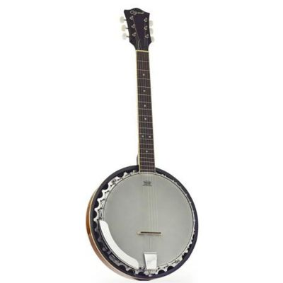 Ozark Gtr Banjo And Case (2103)