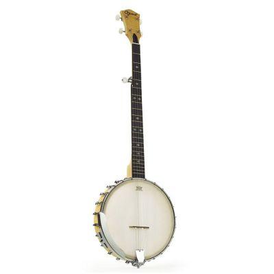 Ozark 2109G 5 String Banjo, Open Back, Brass Tone Ring
