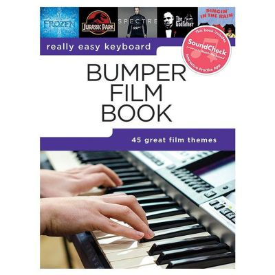 Really Easy Keyboard Bumper Film Book (Book + Interactive Music App)