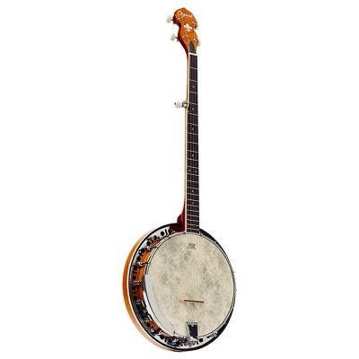 Ozark 2306GCS 5 String Resonator Banjo, Sunburst