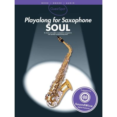 Guest Spot Play Along For Saxophone - Soul (Book and Audio)