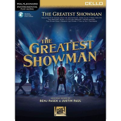 The Greatest Showman - Instrumental Play-Along for Cello