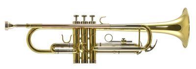 Trevor James Renaissance TJTR2500 Bb Trumpet, Gold Lacquer, Display Model