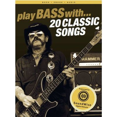 Play Bass with 20 Classic Songs
