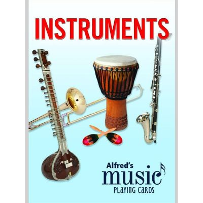 Alfred's Music Playing Cards (Instruments)