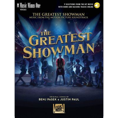 Music Minus One - The Greatest Showman Voice and Piano (Book + Online Audio)