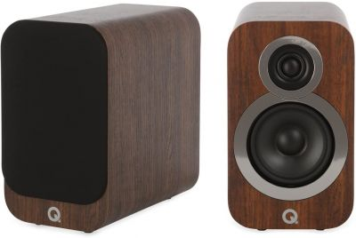Q Acoustics 3010i Compact Bookshelf Speakers (Pair) English Walnut