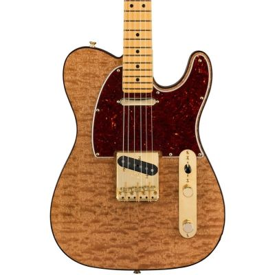 Fender Red Mahogany Top Telecaster, maple Fingerboard, Natural