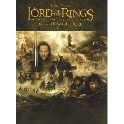 Lord of the Rings Trilogy Piano Vocal