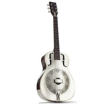 Ozark 3515B Resonator Guitar, Black