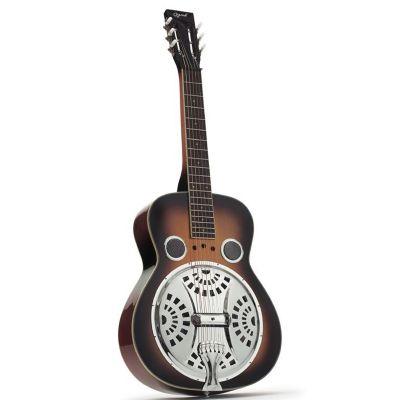 Ozark 3515SQ Resonator Guitar, Wooden Bosy, Square Neck
