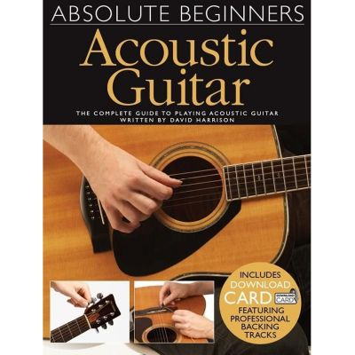 Absolute Beginners Acoustic Guitar (Book with audio download)