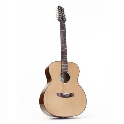 Ozark 12 String Guitar Laminated Koa/ Solid Cedar