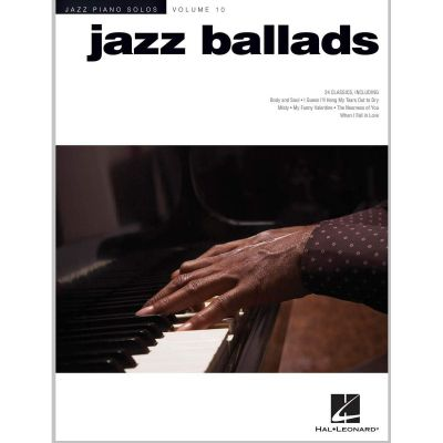 Jazz Piano Solos Volume 10 - Jazz Ballads