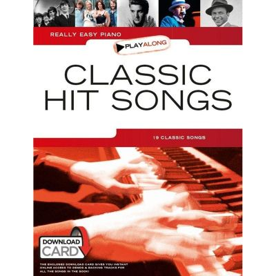 Really Easy Piano Playalong - Classic Hit Songs