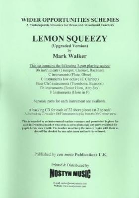 Lemon Squeezy for Wider Opps (Upgraded Version) Parts + Score (Mark Walker)