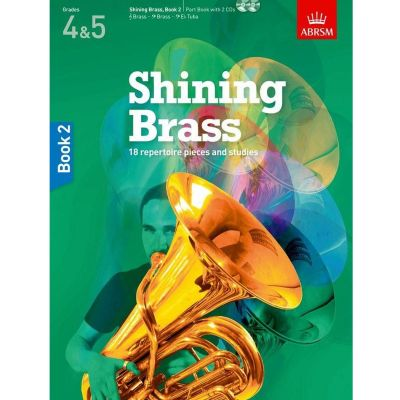 Shining Brass Book 2 Grades 4-5 (Book with 2 CDs)