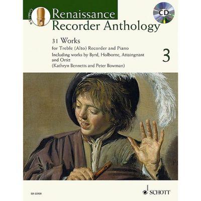 Renaissance Recorder Anthology 3 (Treble Recorder)