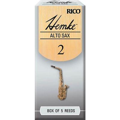 Hemke Alto Sax Reeds, Strength 2.5 (5 Pack)