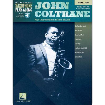 Saxophone Play-Along Volume 10 John Coltrane