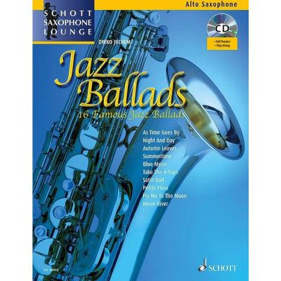Jazz Ballads for Alto Sax (Schott Saxophone Lounge)
