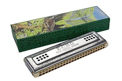 Hohner Echo 96 Double Sided Tremolo Harmonica C/G