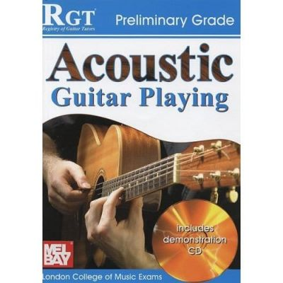 RGT Acoustic Guitar Playing Preliminary Grade +Cd
