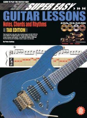 Super Easy Guitar Lessons (Book + 2DVDs + CD DVDrom)