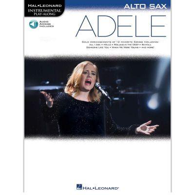 Play-Along Adele - Alto Saxophone